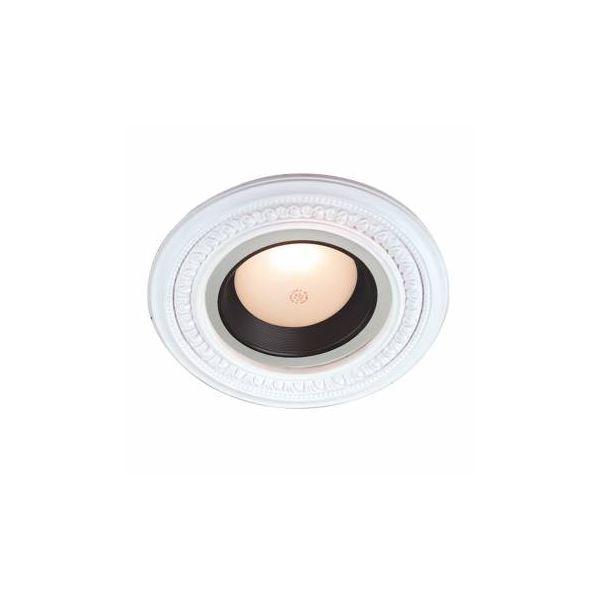 Mini Medallion Spot Light Ring White Trim 5 Inch ID x 9 Inch OD