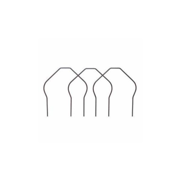 "Garden Borders Black Wrought Iron 16""W x 10""H"