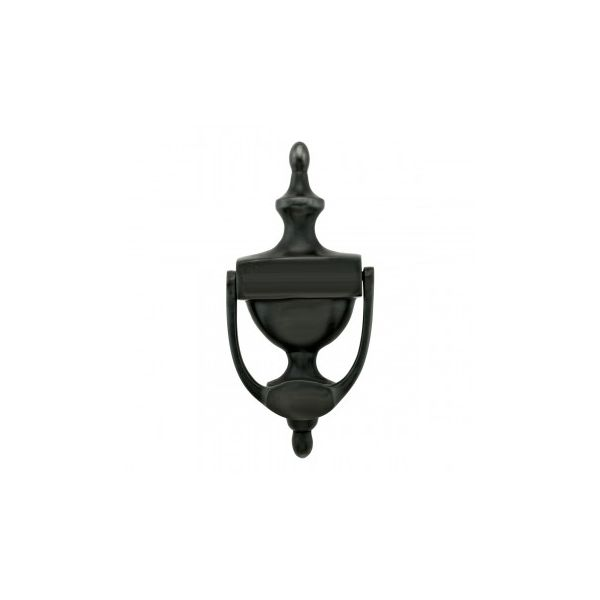 Renovator's Supply Door Knocker Brass Traditional Style Oil Rubbed Bronze 8 inch H x 3.5 inch W