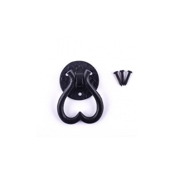 Cabinet Pulls Black Iron Heart Drop Drawer Pulls And Knobs