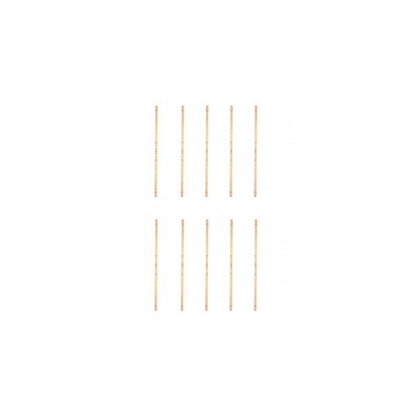 Light Hardwood Edge and Corner Guards Unfinished 1 Inch Diameter Pack of 10