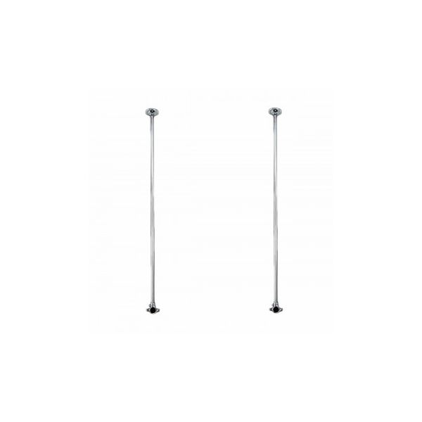 """2 Shower Surround Chrome Ceiling Brace Only 38"""""""