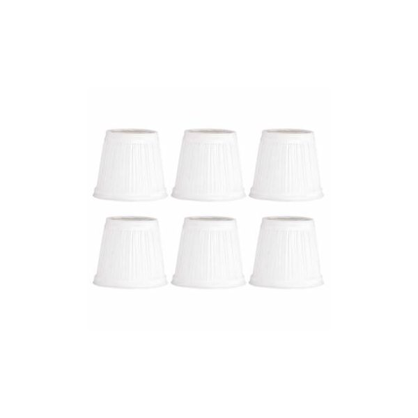 "6 Fabric Lamp Shade 4 1/16"" Mini Clip On"