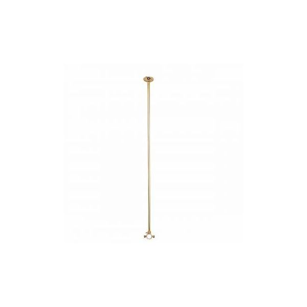 """Shower Surround Solid Brass Ceiling Brace Only 38"""""""