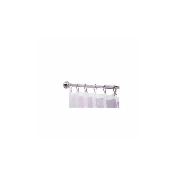 Shower Curtain Rod Bright Chrome 5' Long