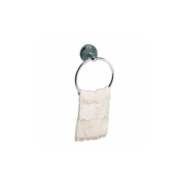 Chrome Brass Towel Ring